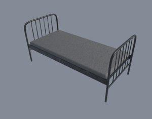 prison bed 3D model
