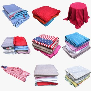 clothes towels 3D model