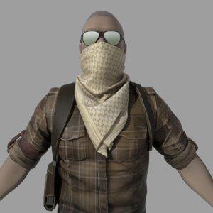 3D model character cs