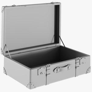 3D base mesh retro suitcase model