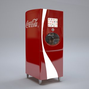 3D cola freestyle machine