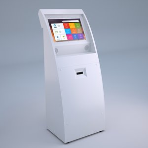 screen pay terminal touch 3D model