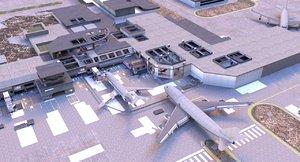 mw2 terminal 3D model