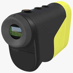 3D model golf laser range finder