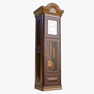 furniture clock pbr ready 3D