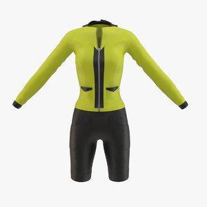 sport suit 3D model