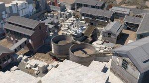 3D mw2 quarry