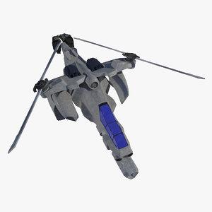 scorpion dt-9 3D model