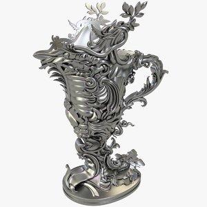 3D jug x1 cnc model
