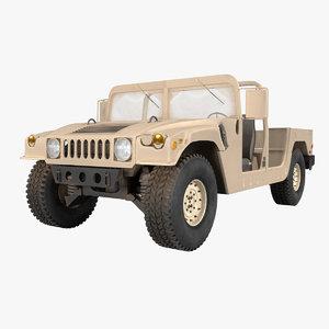 3D m1123 desert model