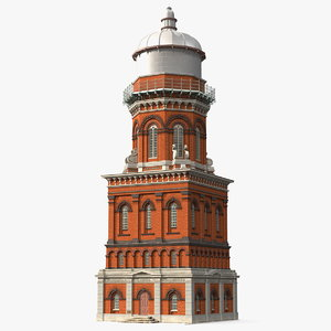 invercargill water tower 3D model