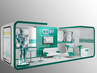 Booth Exhibition Stand a43