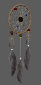 dream catcher dreamcatcher 3D model