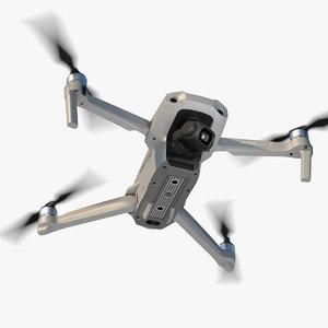 3D model dji mavic air2 drone