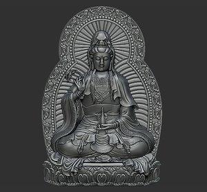 kwanyin bodhisattva 3D model
