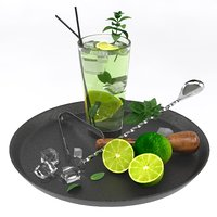 mojito cocktail set