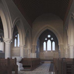 church saints 3D