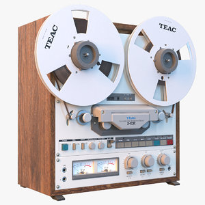 3D reel tape recorder teac