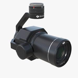 dji zenmuse x7 camera 3D