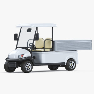 3D electric golf car excar