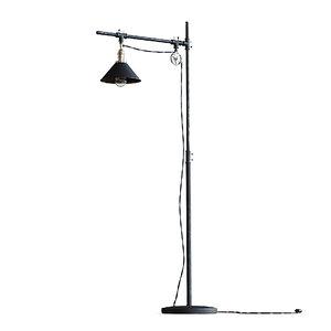 style floor lamp 3D
