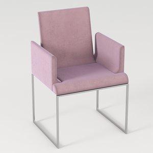 3D minimal chair