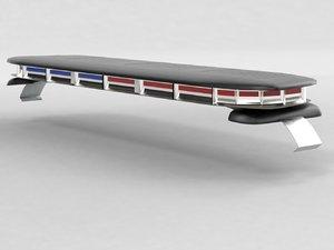 3D model led lightbar nforce