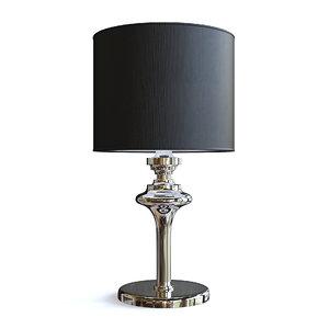 lamp black 3D model