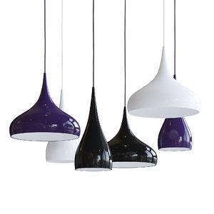 ceiling lamps 3D model