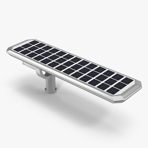 led street light solar panel model