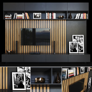 3D tv decor books