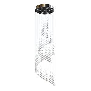 crystal ceiling lamp 3D model