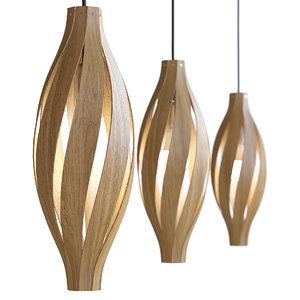 3D hanging lamps model