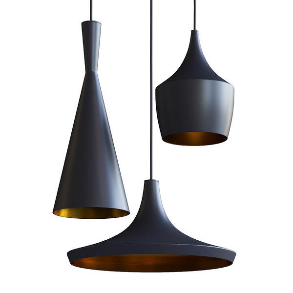 Black Gold Metal Ceiling Model, Black And Gold Pendant Lamp Shade