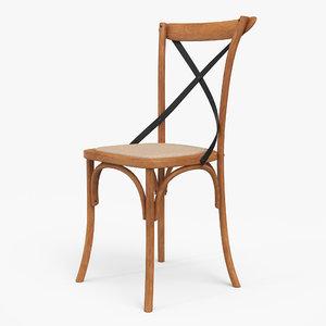 thonet chair lighting 3D model