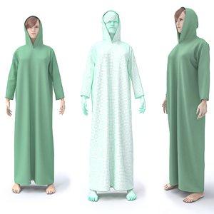 character female arabic clothing 3D