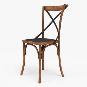3D thonet chair