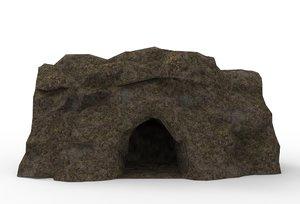 cave landscape 3D model
