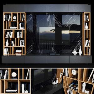 3D tv decor books