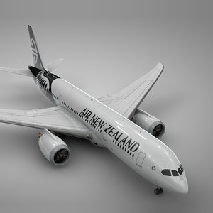 boeing 787 dreamliner air new 3D model