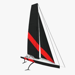 3D ac75 boats