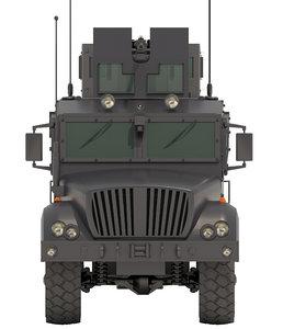 3D armored mrap vehicle v4