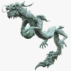 dragon oriental 3D model