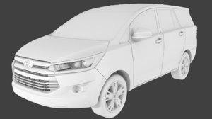 3D toyota innova