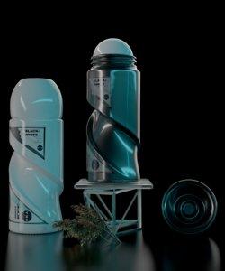 deodorant perfume 3D