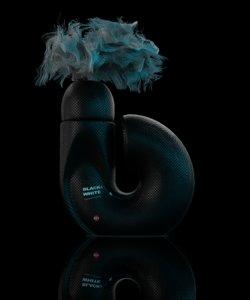 3D model deodorant perfume
