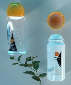 3D deodorant mockups