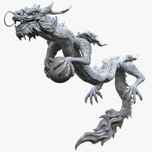 dragon oriental model