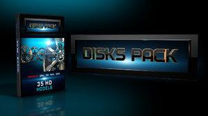 3D disks pack