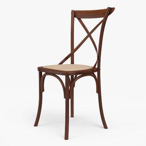 thonet chair 3D